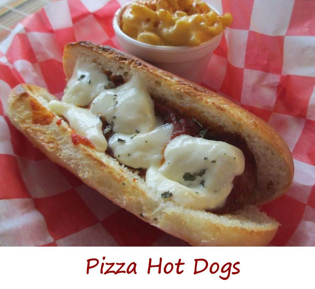 Pizza Hot Dogs