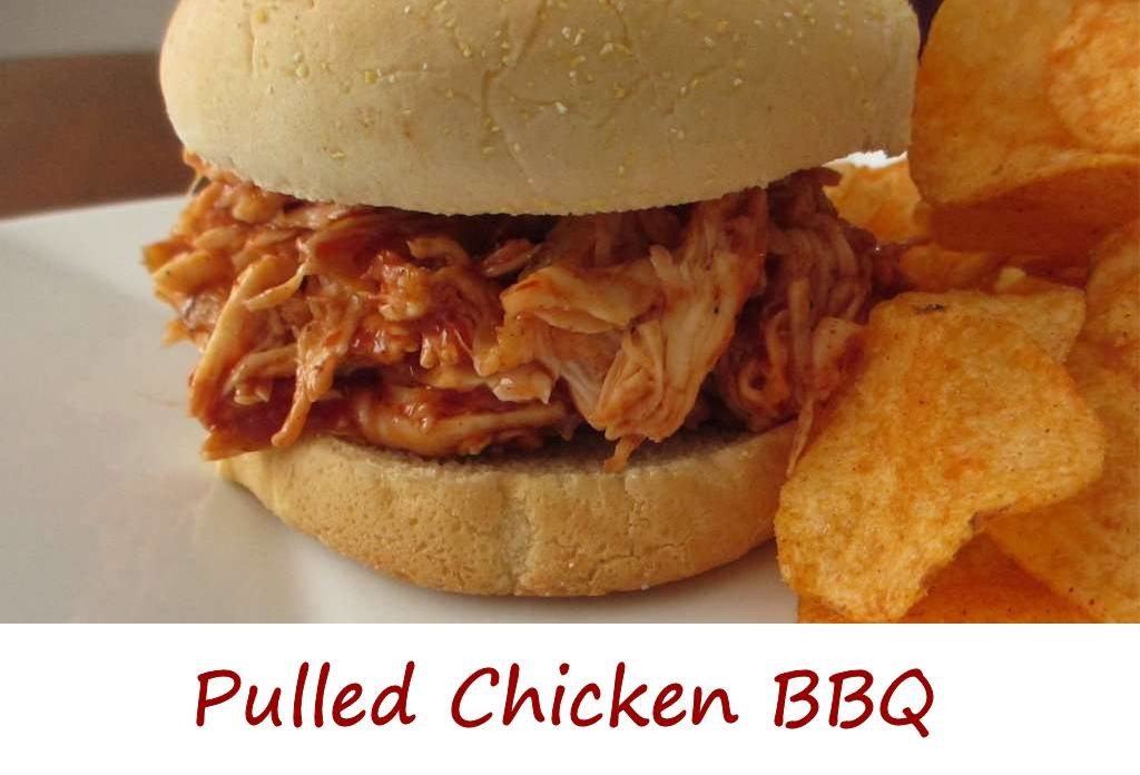 Pulled Chicken BBQ Sandwich