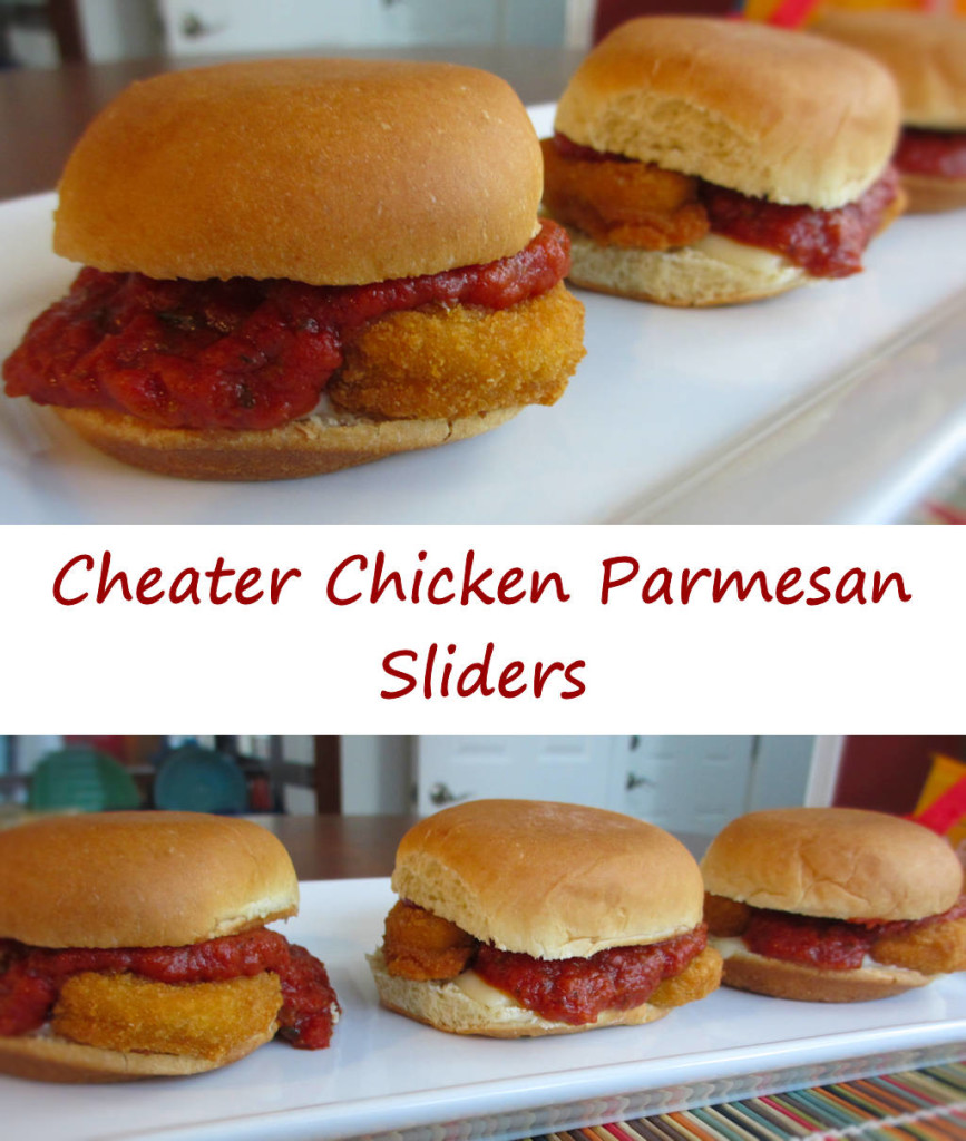 Cheater Chicken Parmesan Sliders
