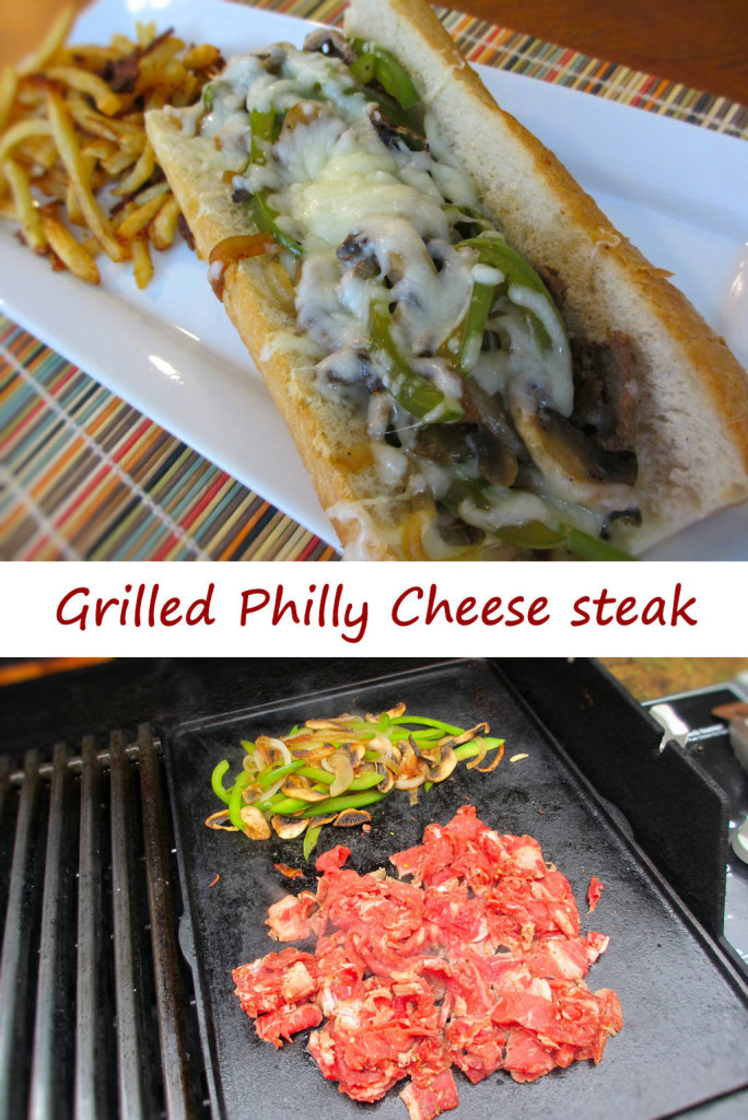 Grilled Philly Cheese Steak