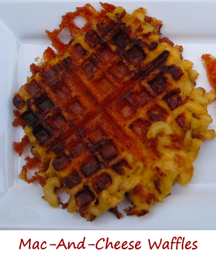 Mac-and-Cheese Waffles
