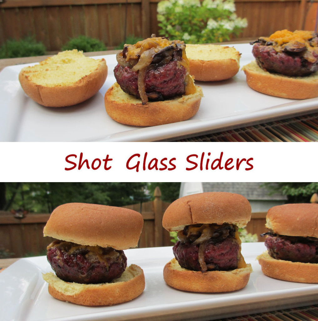 Shot Glass Sliders