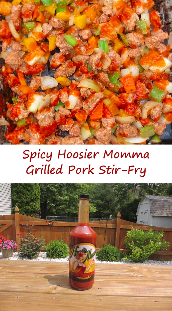Spicy Hoosier Momma Pork Stir-Fry
