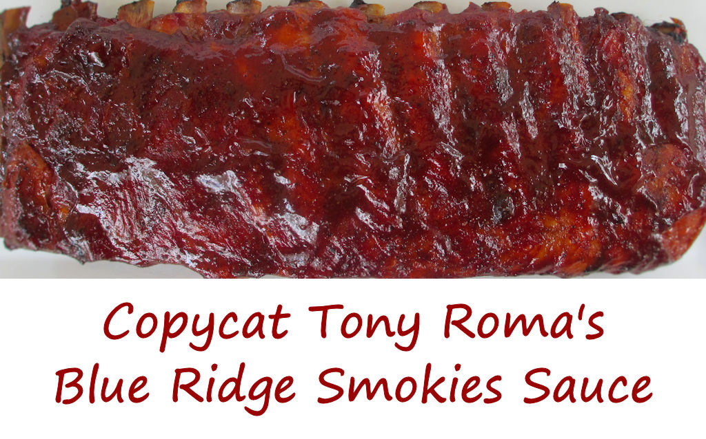 Copycat Tony Roma's Blue Ridge Smokies Sauce