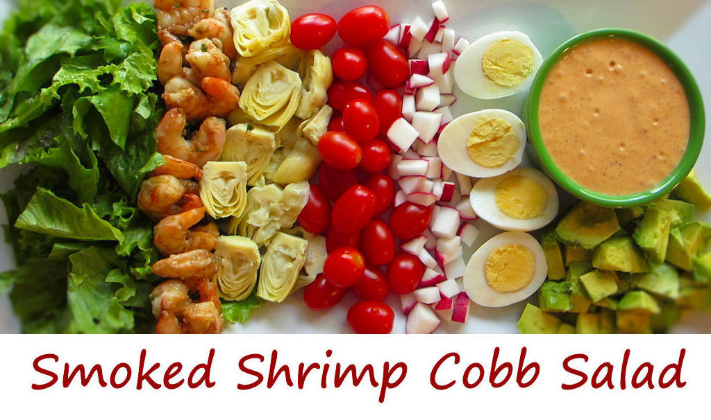 Smoked Shrimp Cobb Salad