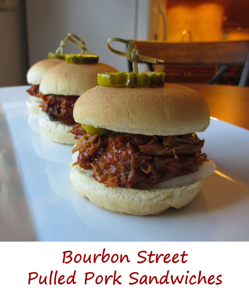 Bourbon Street Pulled Pork Sandwiches