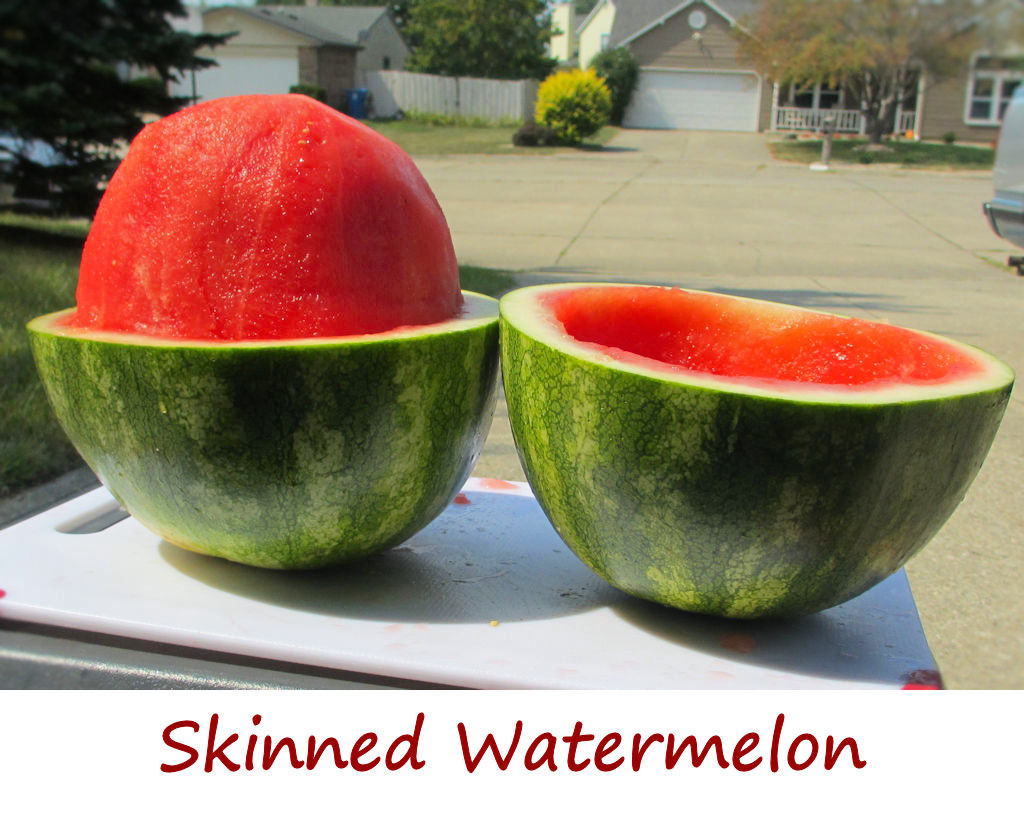 Skinned Watermelon