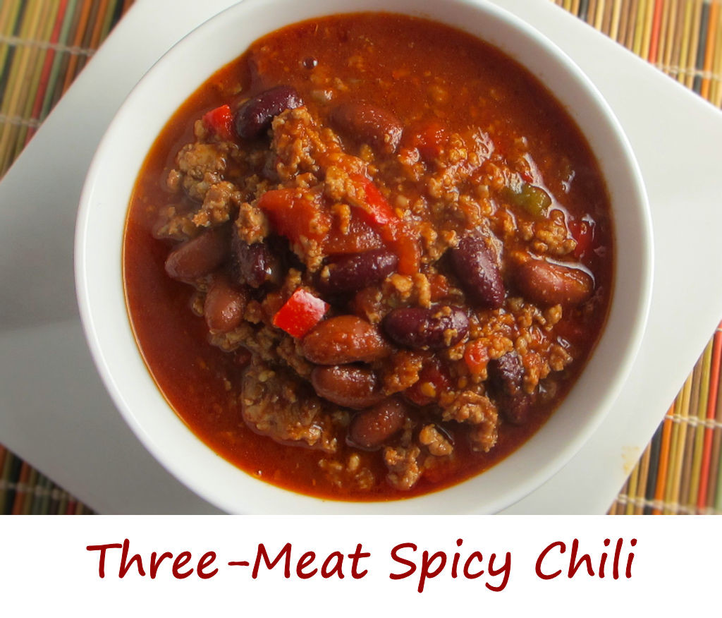 Three-Meat Spicy Chili