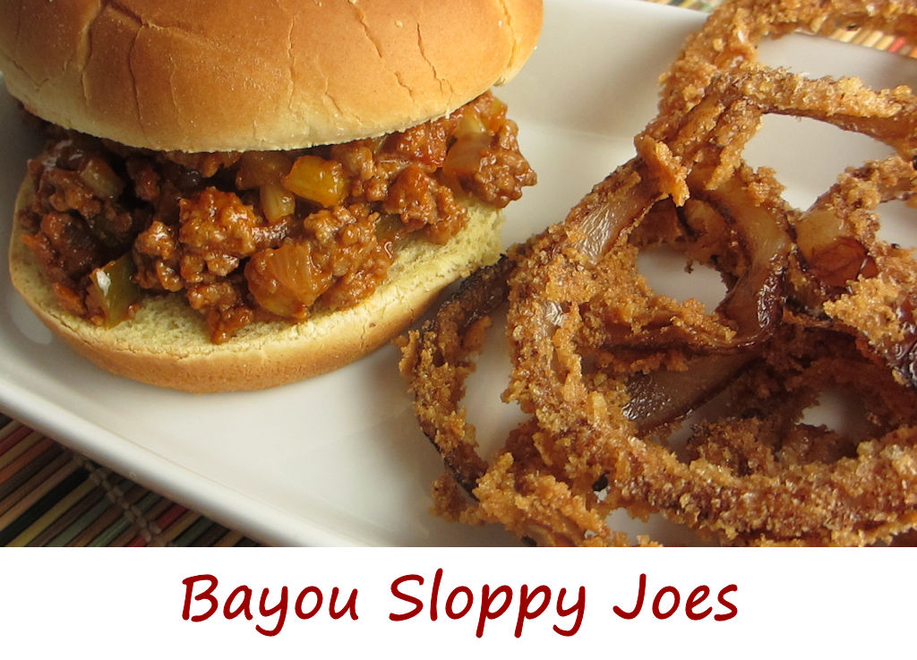 Bayou Sloppy Joes