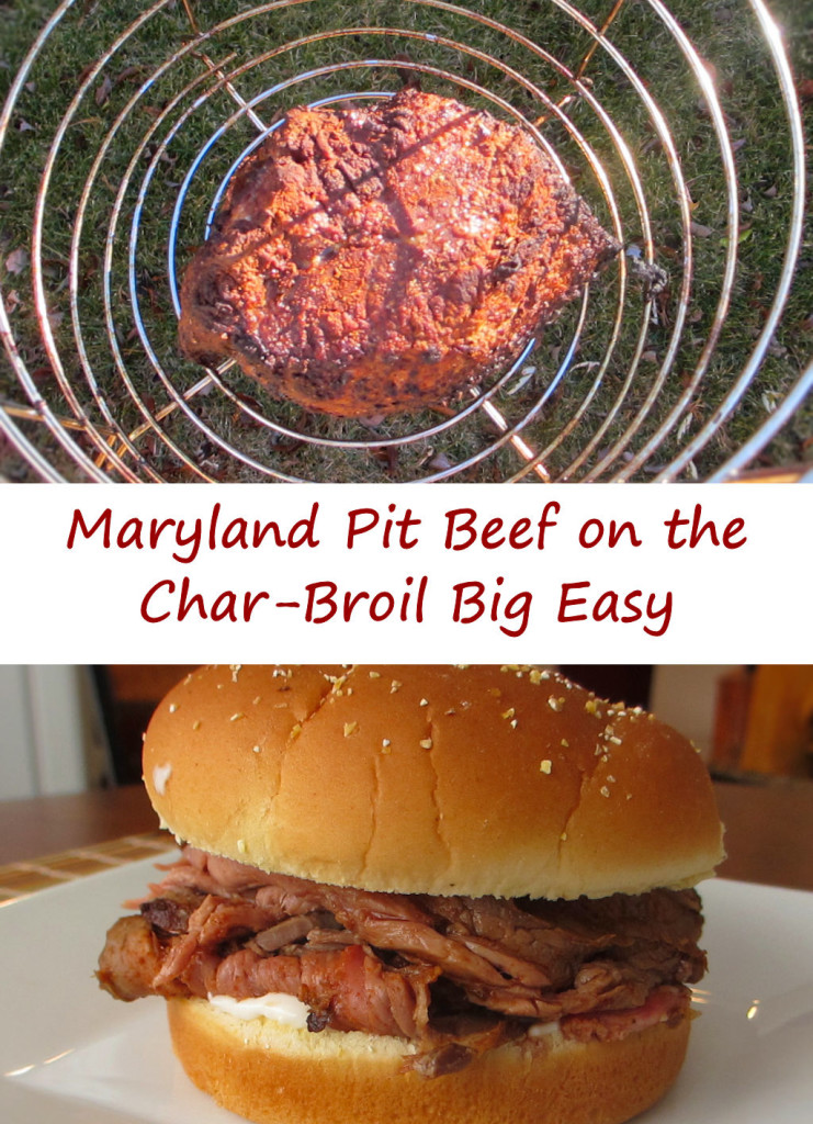 Maryland Pit Beef on the Char-Broil Big Easy