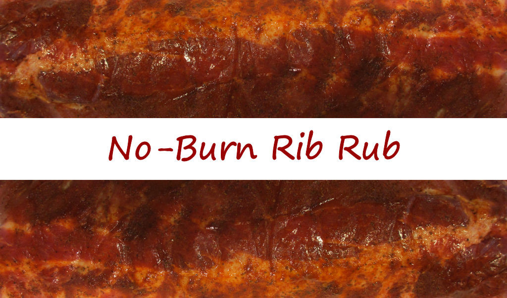 No-Burn Rib Rub