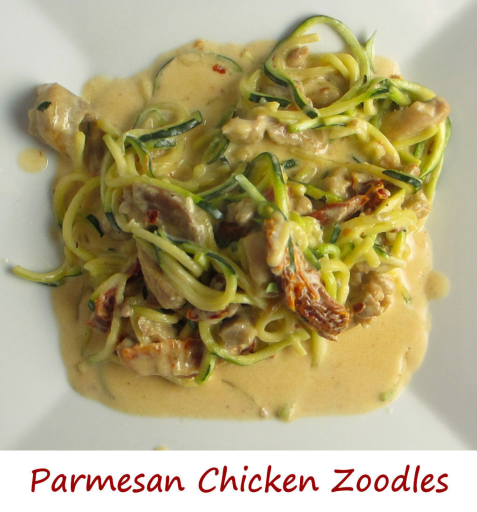 Parmesan Chicken Zoodles