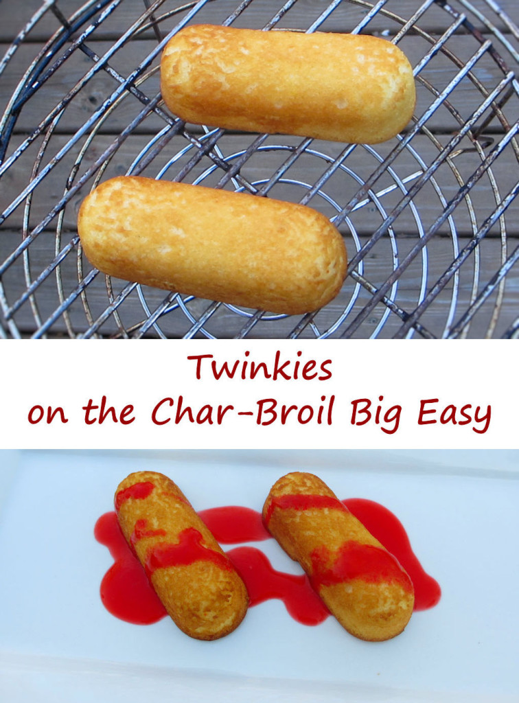 Twinkies on the Char-Broil Big Easy