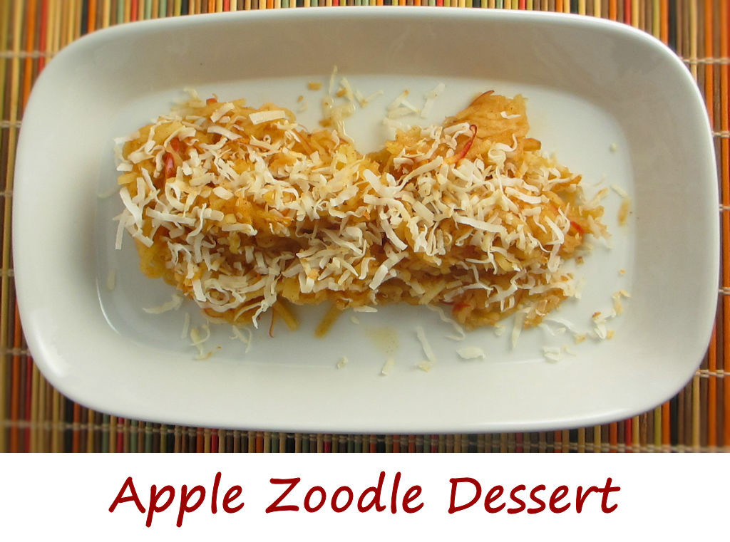 Apple Zoodle Dessert