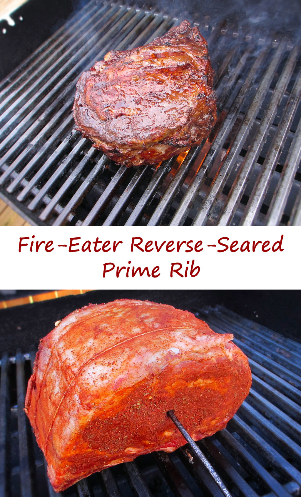 Fire-Eater Reverse-Seared Prime Rib