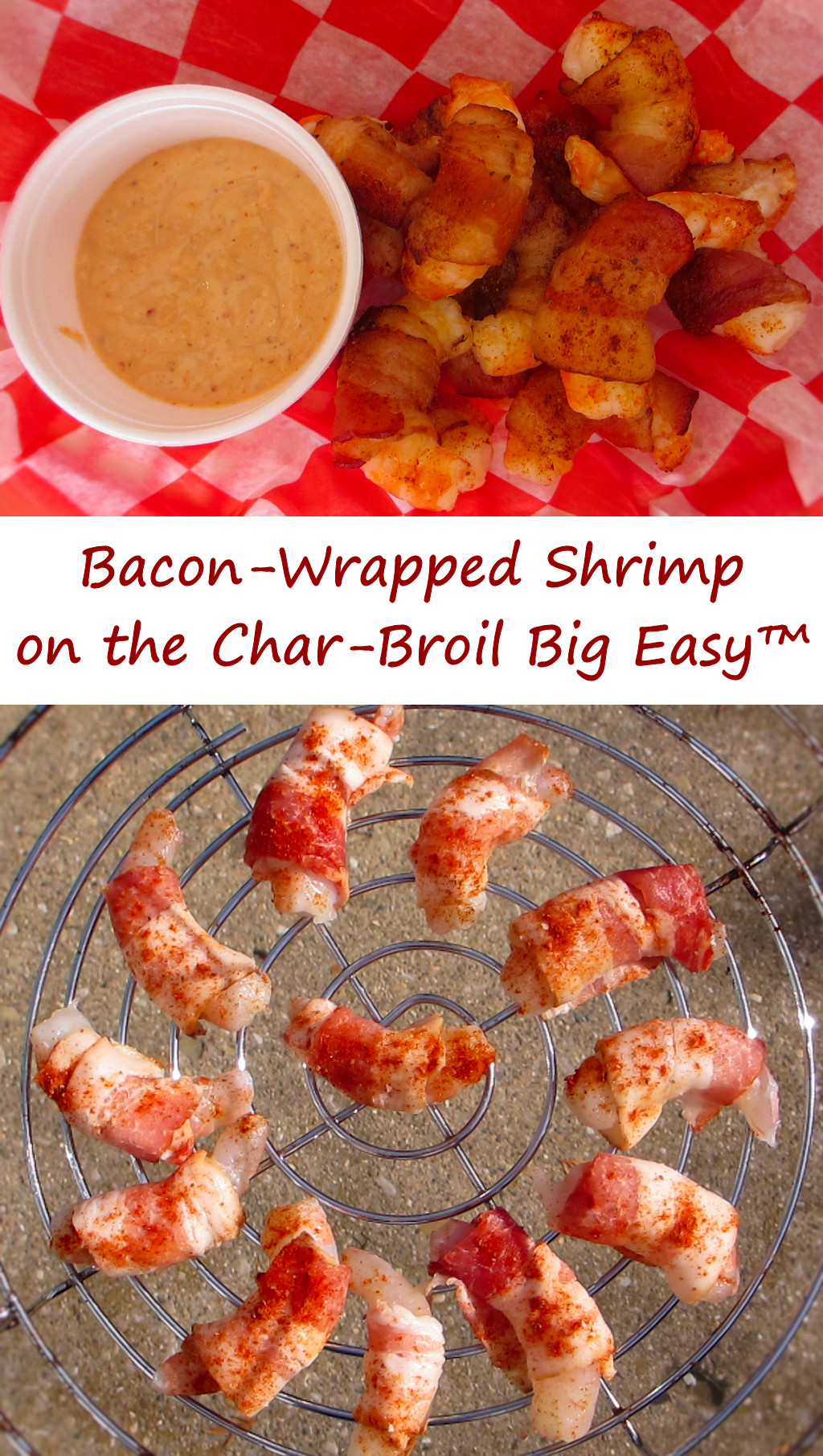Bacon-Wrapped Shrimp on the Char-Broil Big Easy