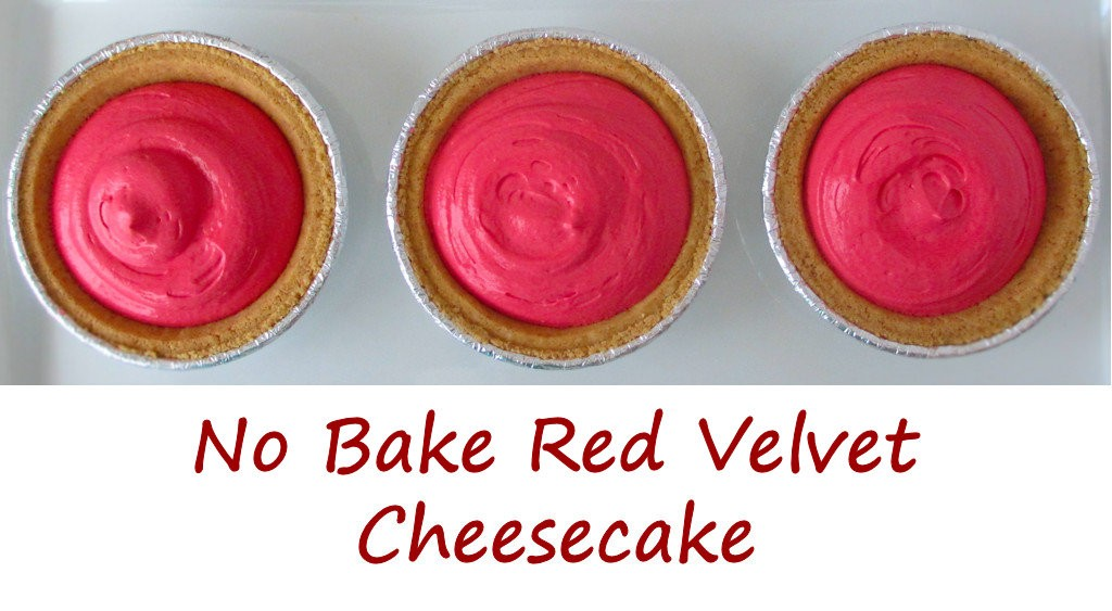 No Bake Red Velvet Cheesecake