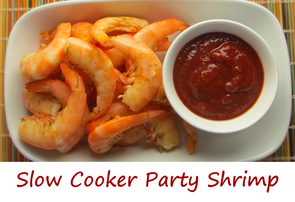 Slow Cooker Party Shrimp