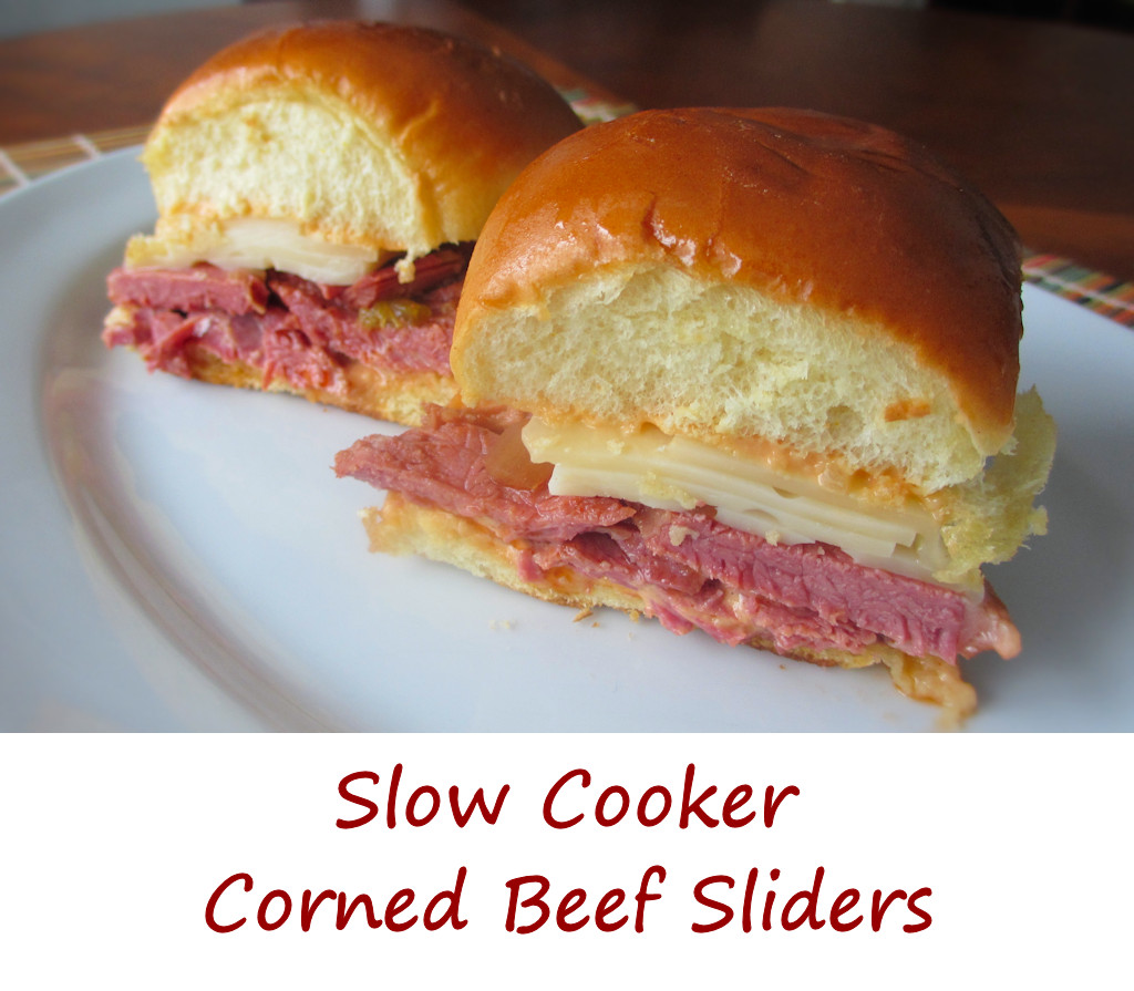Slow Cooker Corned Beef Sliders