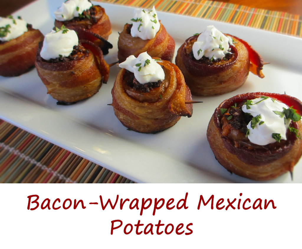 Bacon-Wrapped Mexican Potatoes