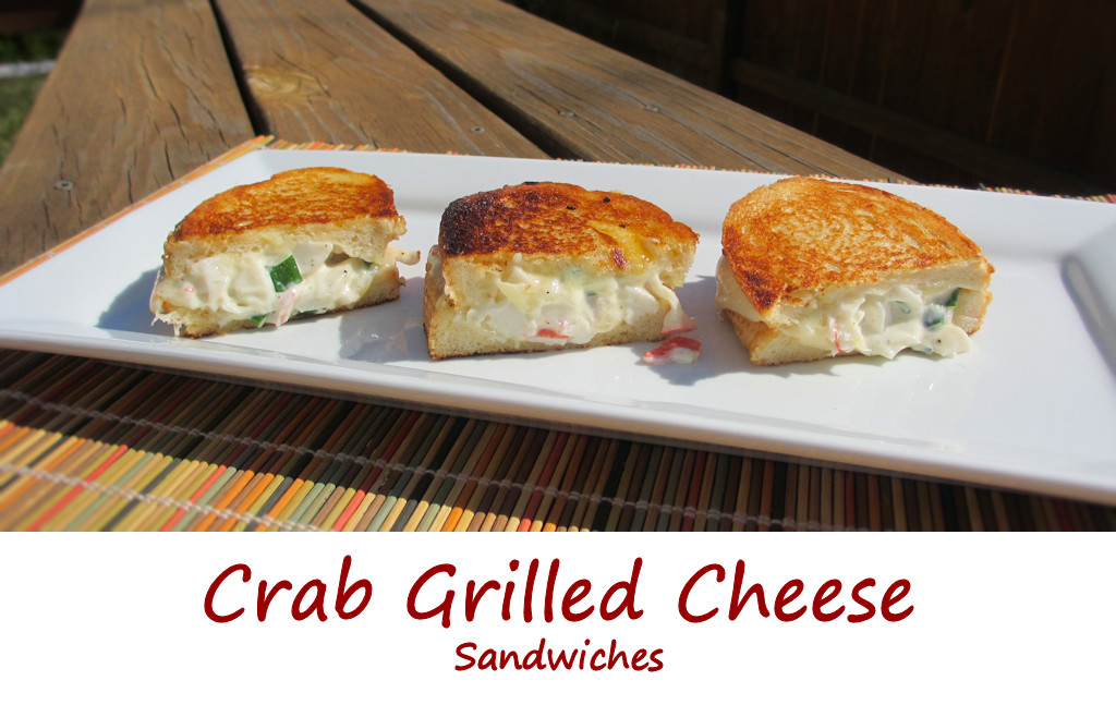 Crab Grilled Cheese Sandwiches