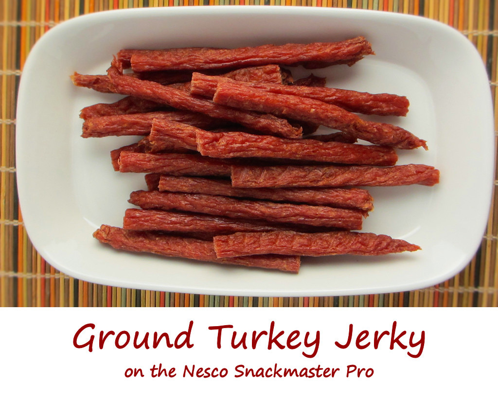 Ground Turkey Jerky on the Nesco Snackmaster Pro