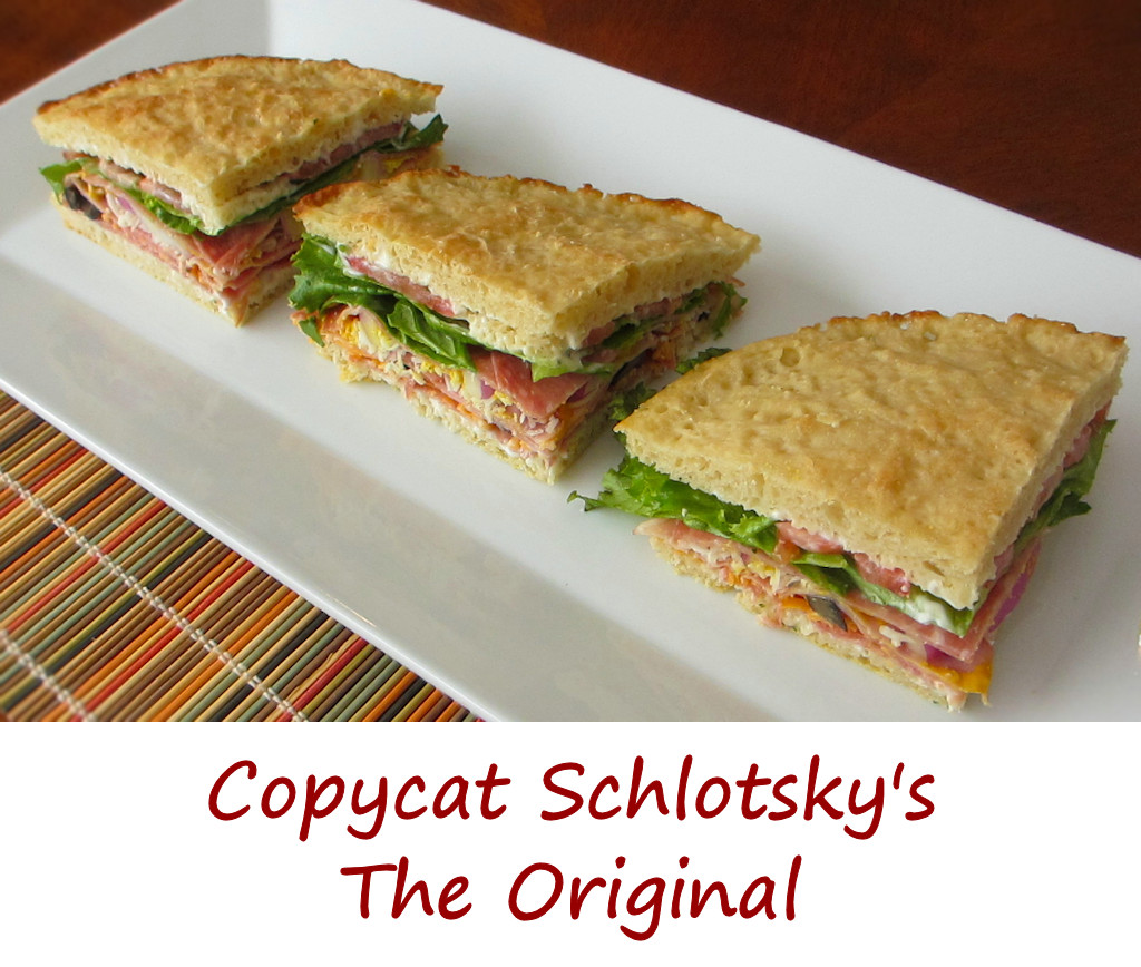Copycat Schlotsky's The Original