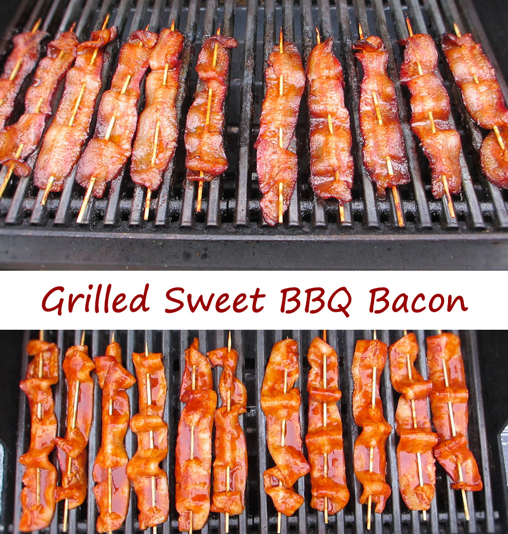 Grilled Sweet BBQ Bacon