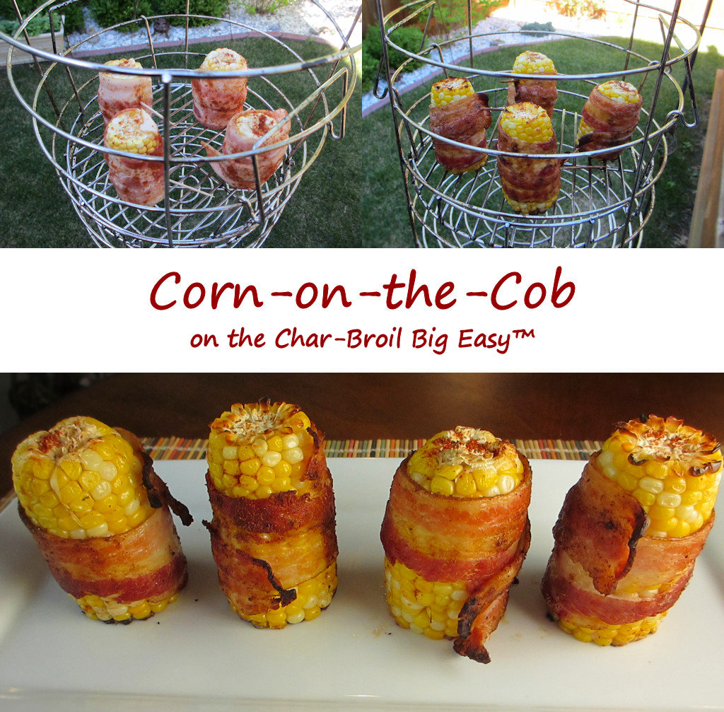 Corn-on-the-Cob on the Char-Broil Big Easy