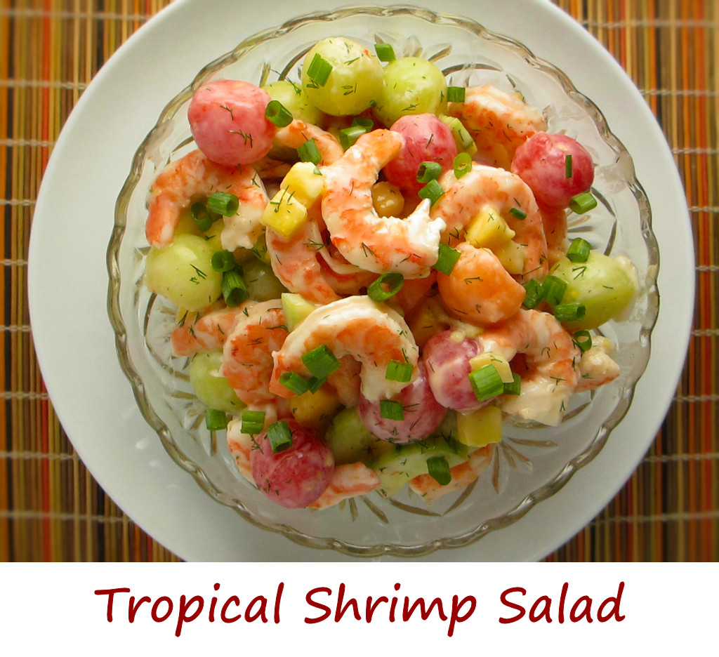 Tropical Shrimp Salad