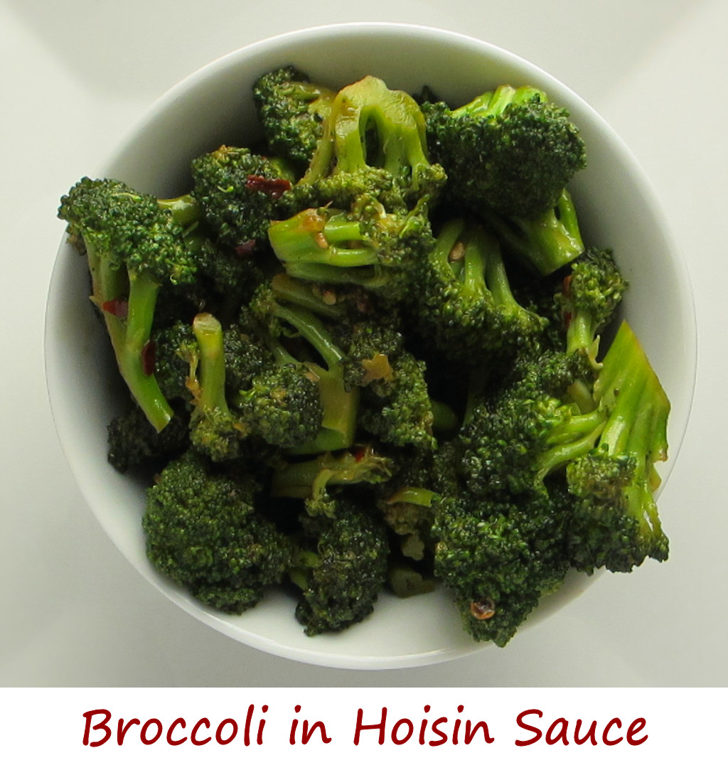Broccoli in Hoisin Sauce