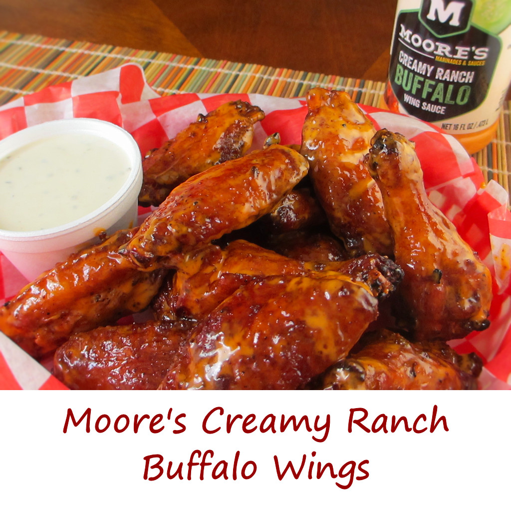 Moore's Creamy Ranch Buffalo Wings