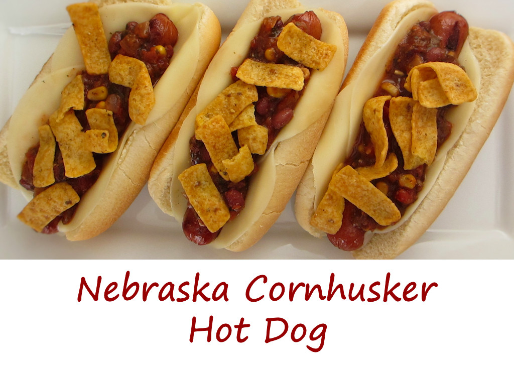 Nebraska Cornhusker Hot Dog
