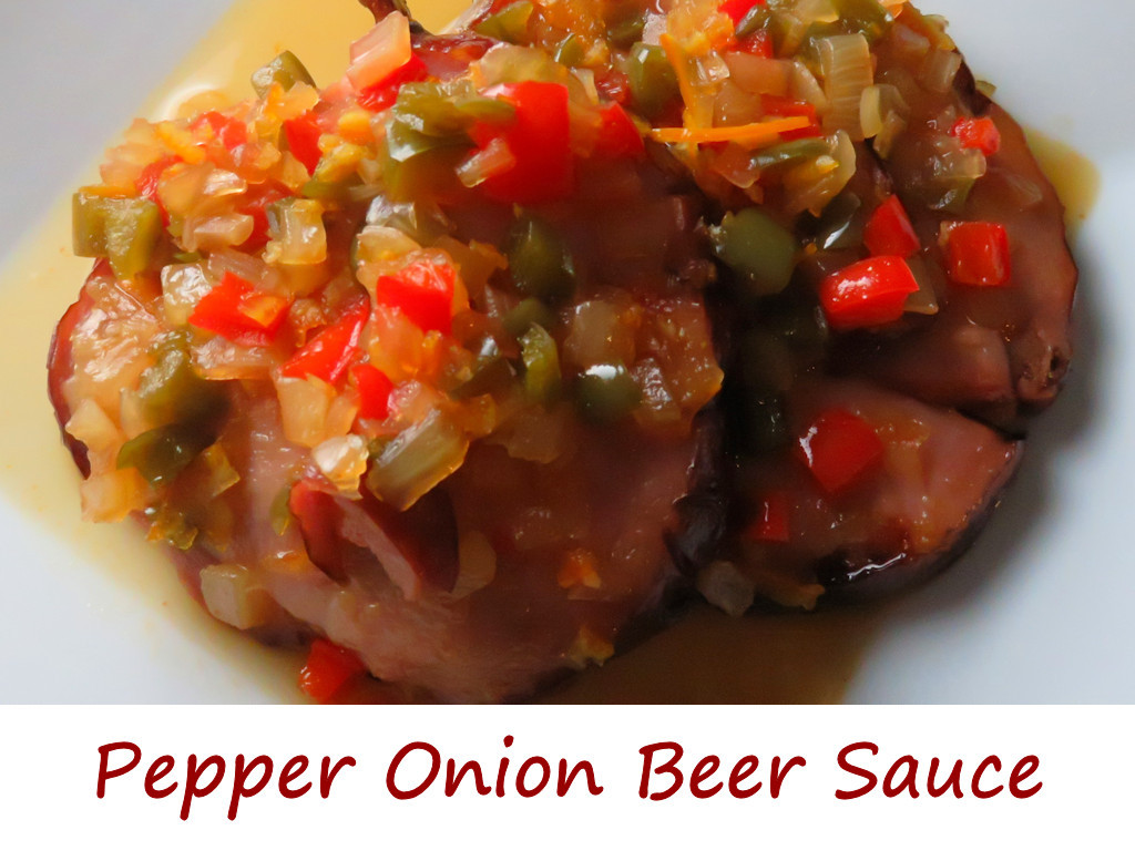 pepper-onion-beer-sauce