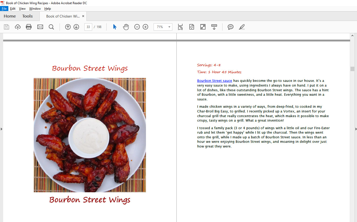 New Chicken Wing Cookbook