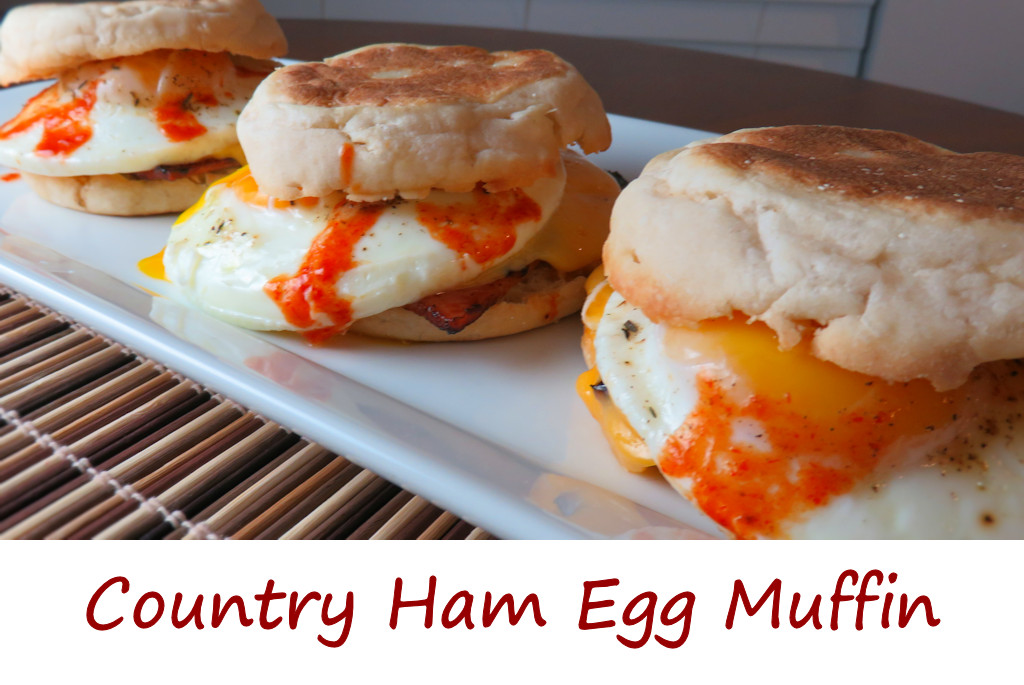 Country Ham Egg Muffin