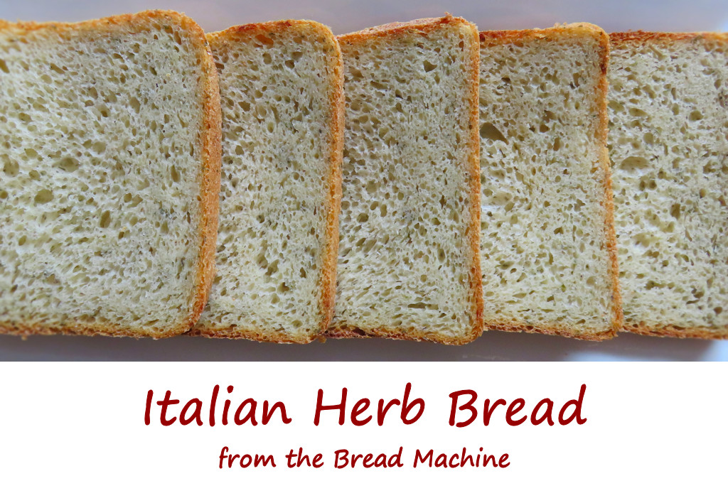 Italian Herb Bread from the Bread Machine