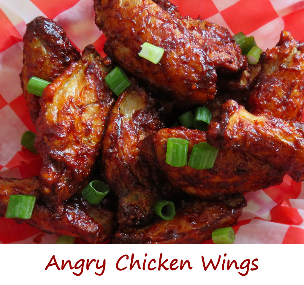 Angry Chicken Wings