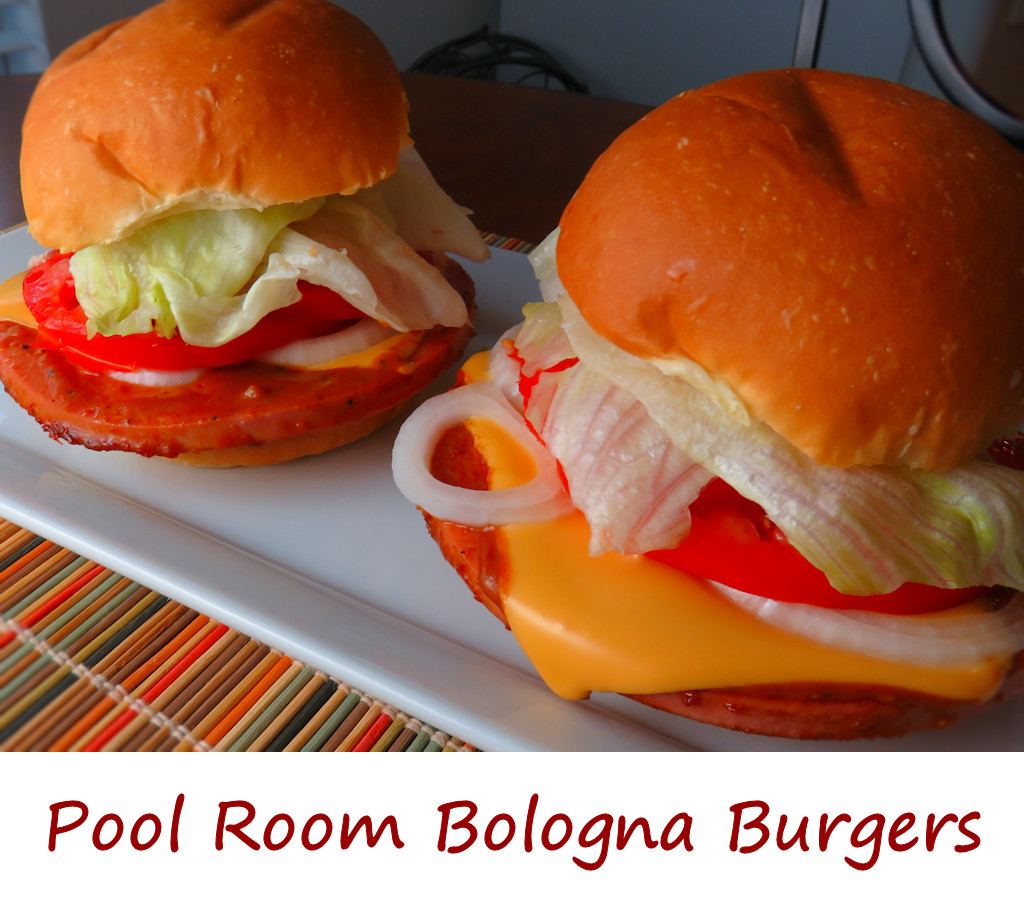 Pool Room Bologna Burgers