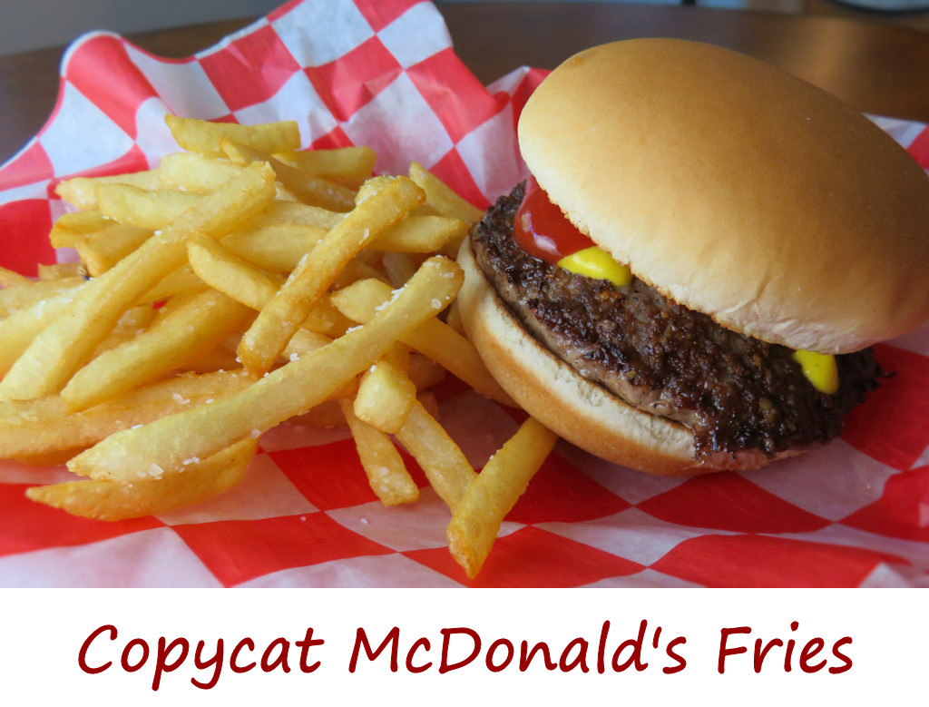 Copycat McDonald's Fries