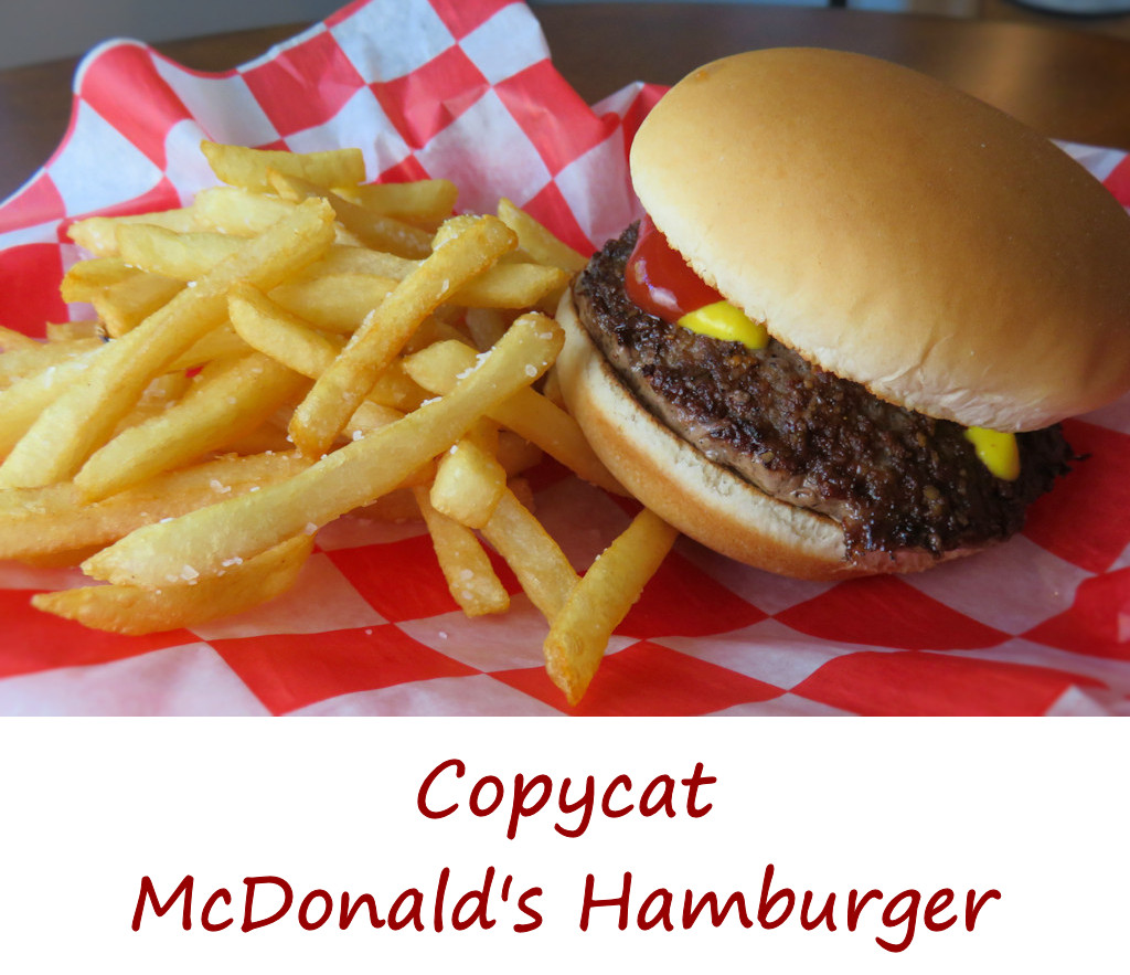 Copycat McDonald's Hamburger