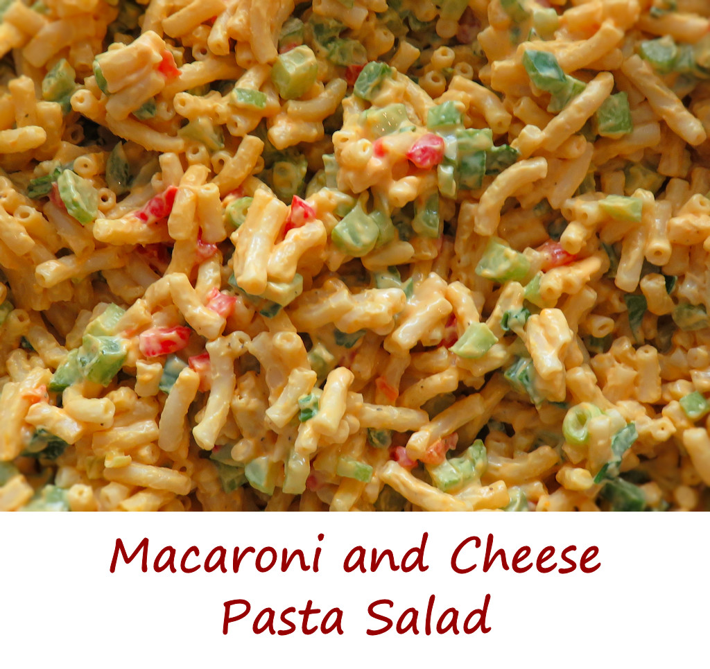 Macaroni and Cheese Pasta Salad