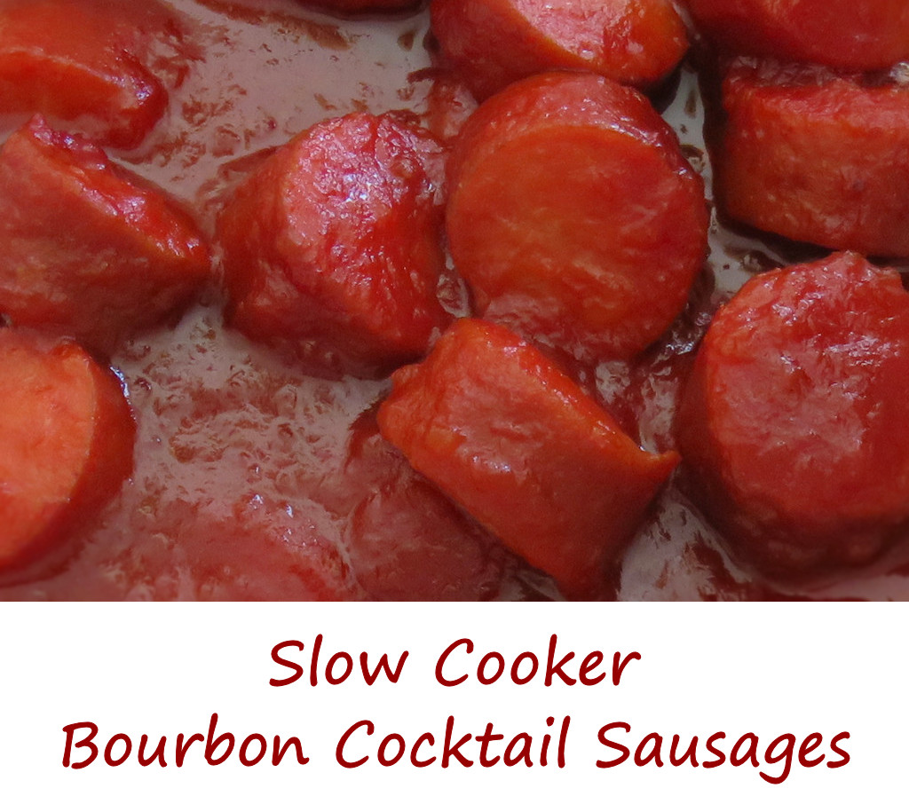 Slow-Cooker Bourbon Cocktail Sausages