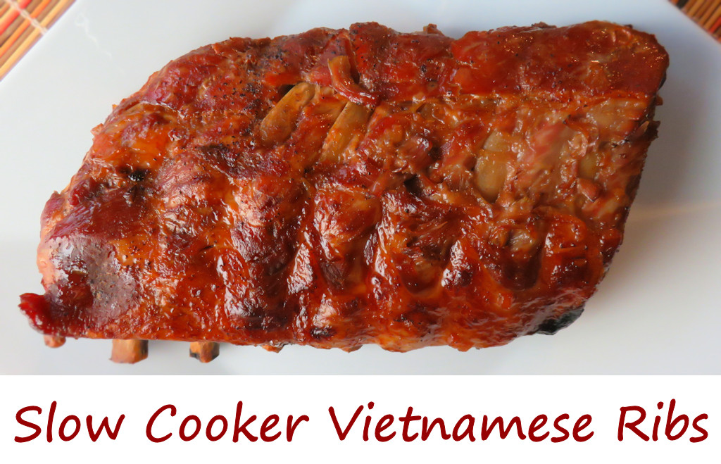 Slow Cooker Vietnamese Ribs