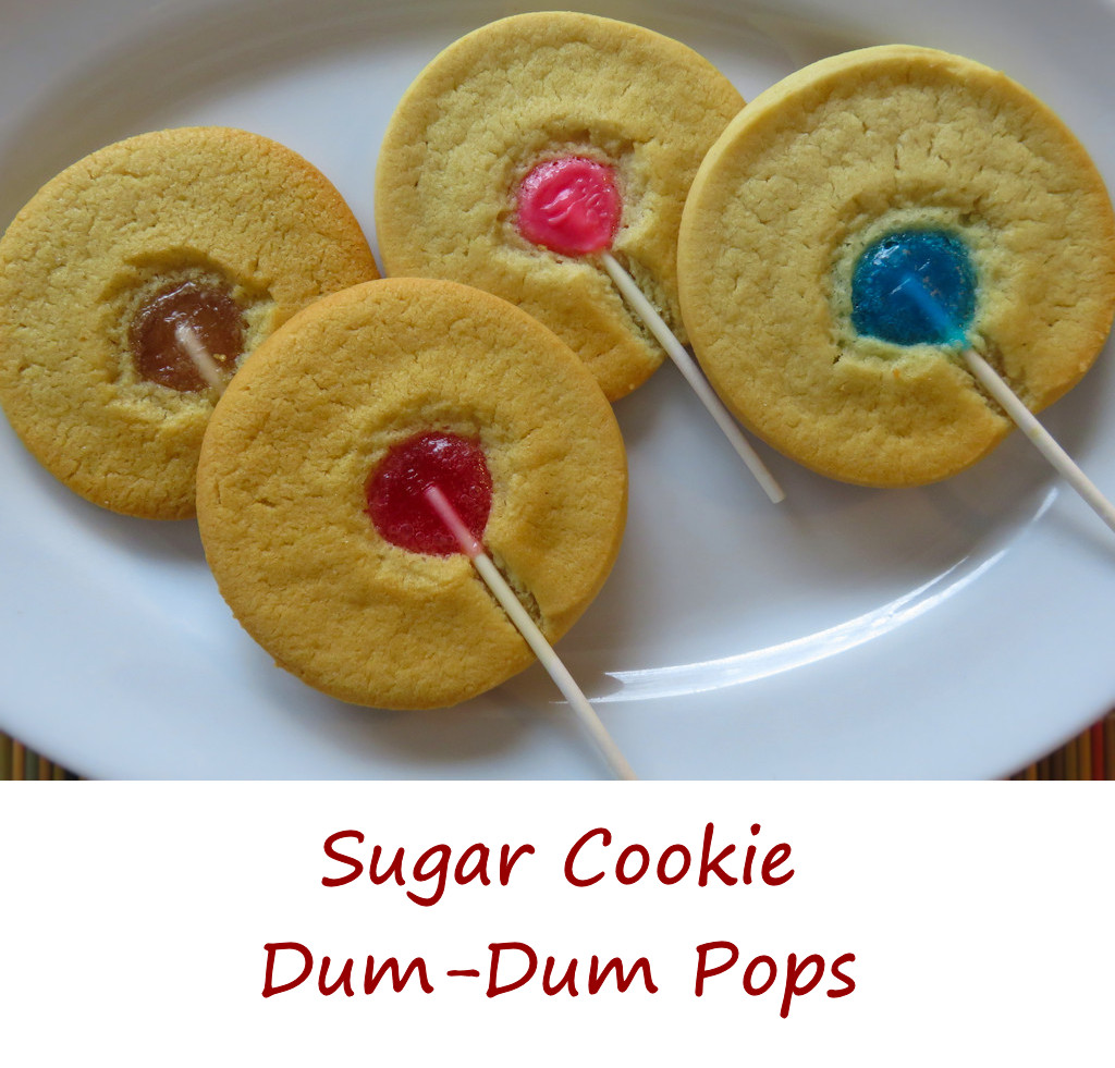 Sugar Cookie Dum-Dum Pops