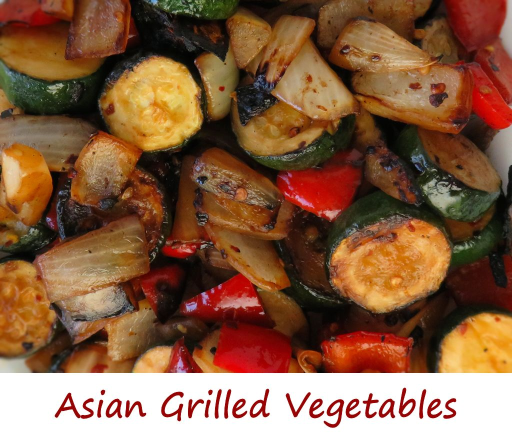 Asian Grilled Vegetables