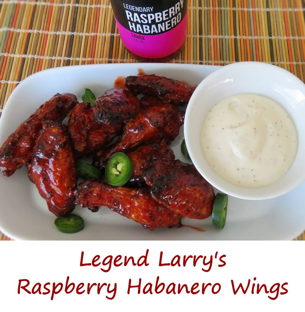 Legend Larry's Raspberry Habanero Wings