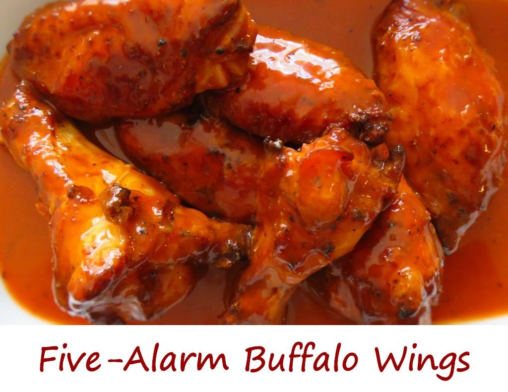 Five-Alarm Buffalo Wings