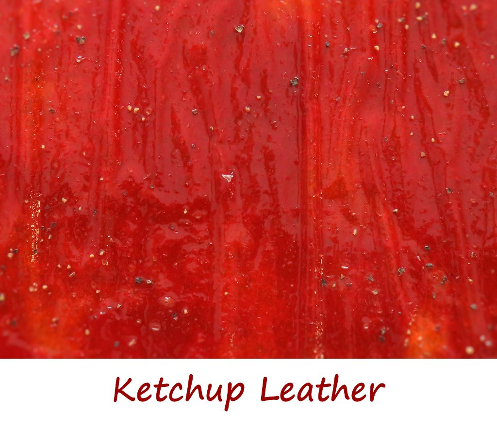 Ketchup Leather
