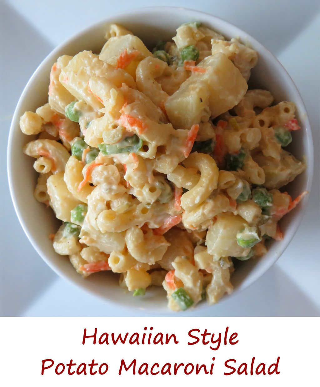 Hawaiian-Style Potato Macaroni Salad